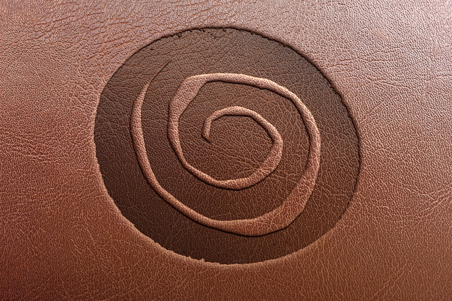 EMBOSSING ON LEATHER/SYNTHETIC